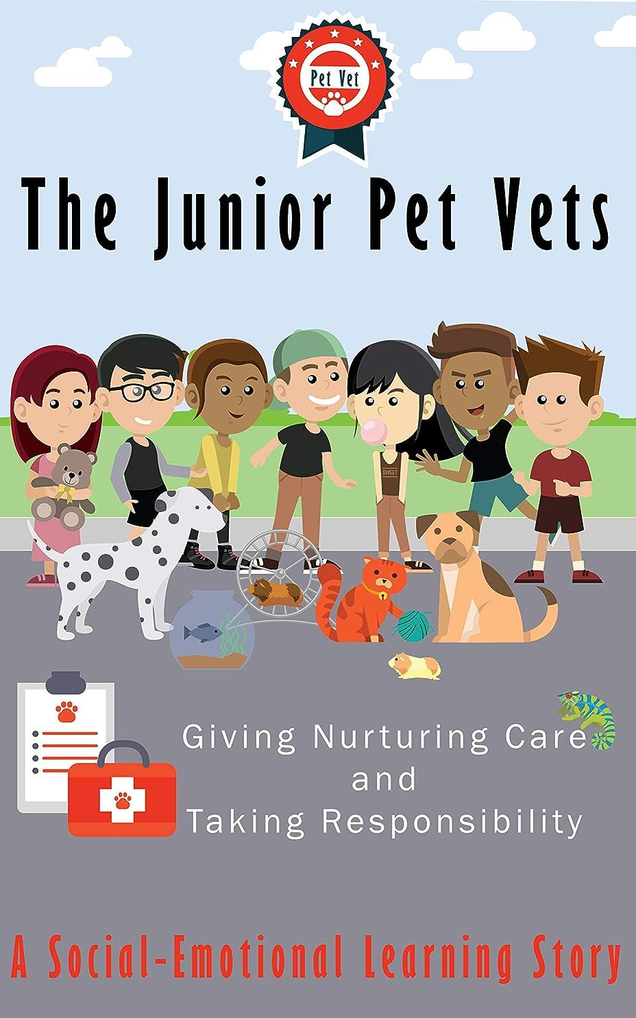 校長化学ウェイターThe Junior Pet Vets: Nurturing Care and Taking Responsibility (English Edition)