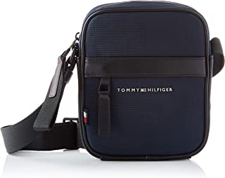 Tommy Hilfiger Elevated Nylon Mini Reporter, Bolsas. para Hombre, Talla única