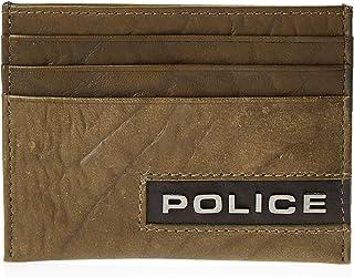Police Ltr Card Case Light Brown Droid, Light Brown