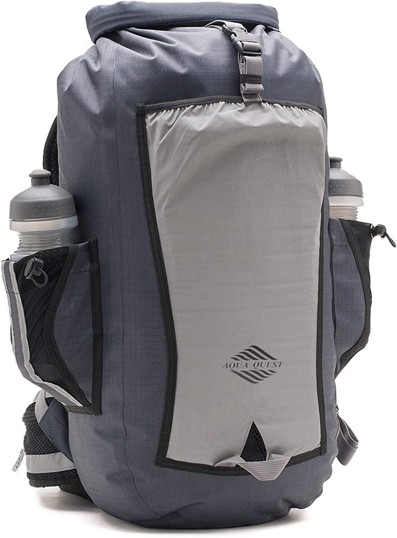 Aqua Quest Sport 25 Backpack  100% Waterproof Reflective Dry Bag 25L Backpack for Biking, Hiking, School