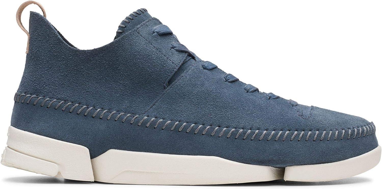 Clarks Trigen Flex mocka mocka mocka skor i standard Fit Storlek 9 Blå  online-försäljning