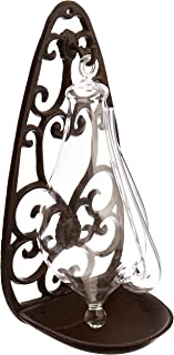 vintage glass barometer