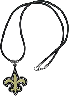 NFL New Orleans Saints Cord Necklace, , 21