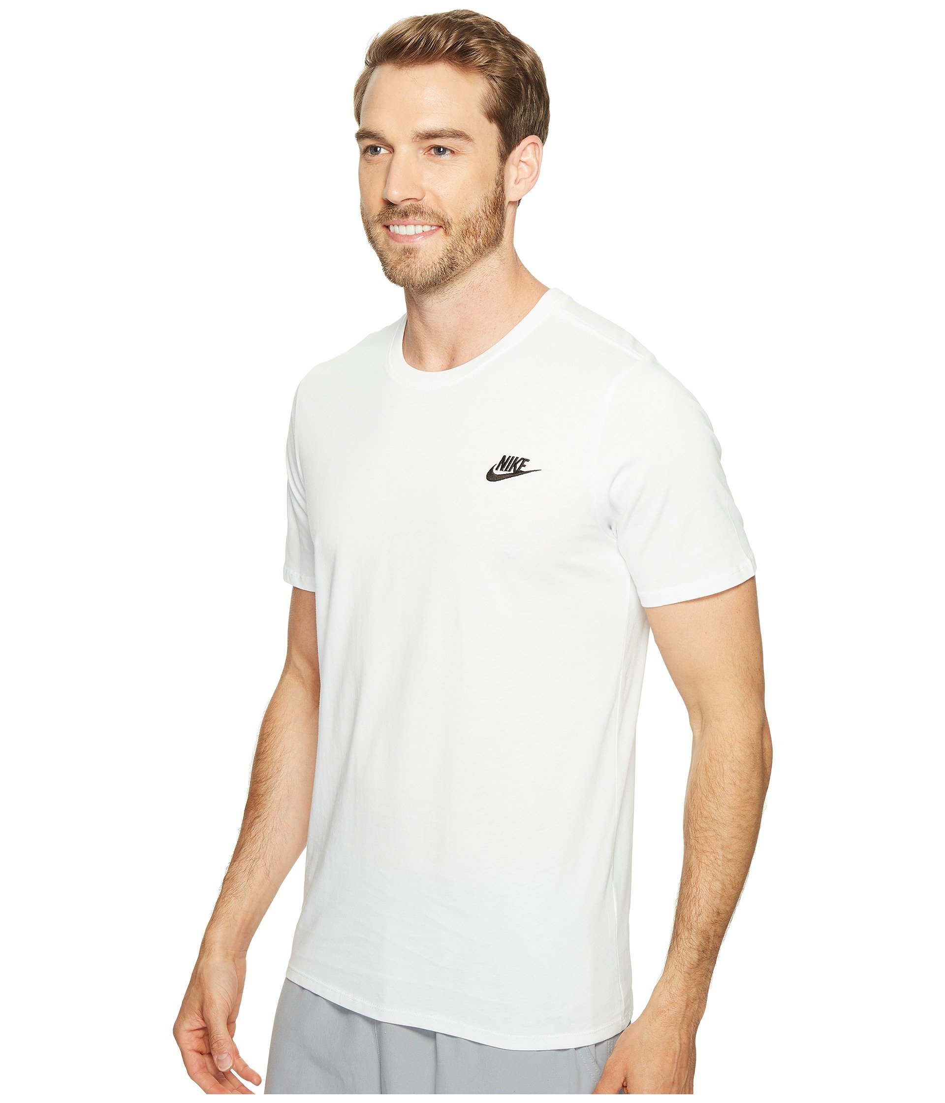 Nike Futura Core Embroidered Tee white White black wqTwREr