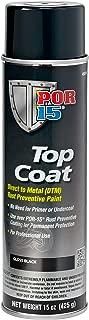 POR-15 45818 Top Coat Gloss Black Spray Paint, 15. Fluid_Ounces