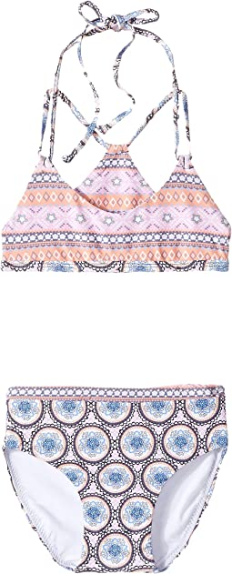 O'Neill Kids - Evie Racerback Top Set (Toddler/Little Kids)