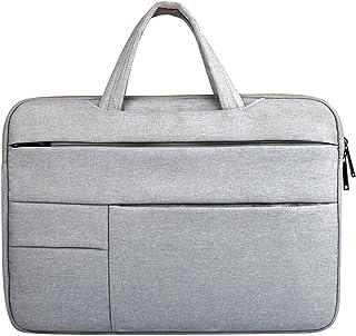 JJJJD Laptop Handbag Briefcase Handbag Satchel Bag Tablet Bussiness Carrying Sleeve Case Protector for Lady Men (Color : Gray, Size : 13.3inch)