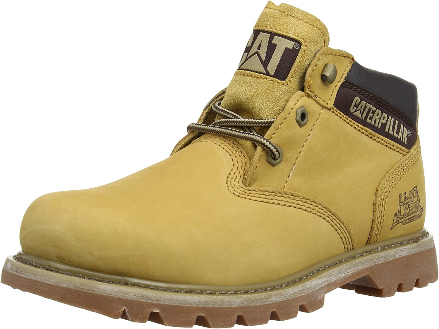 Caterpillar Ealing Mid Honey Mens Ankle Boots, Size 12