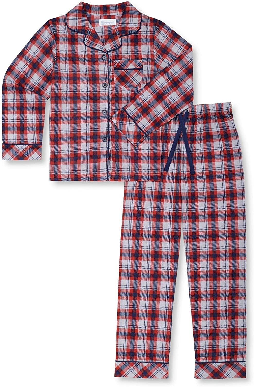 PajamaGram Pajamas for Boys Selling and selling Button Down - Excellence
