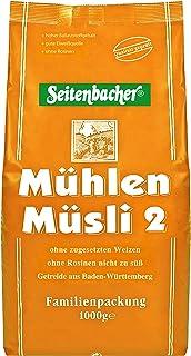 Seitenbacher Mühlen-Müsli 2 ohne Rosinen, 3er Pack 3 x 1000 g Packung