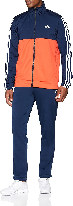 Adidas Herren Back2bas 3s Ts Trainingsanzug