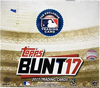2017 Topps BUNT Baseball-Unopened Sealed Box-Search For Autos-36 PACKS-HOBBY