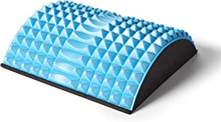 Kanjo Acupressure Back Pain Relief Cushion - High Density Foam Core - Seat Cushion for Lower Back Support - Relieve Spinal & Tailbone Pain - Coccyx Cushion Perfect for Office Chair