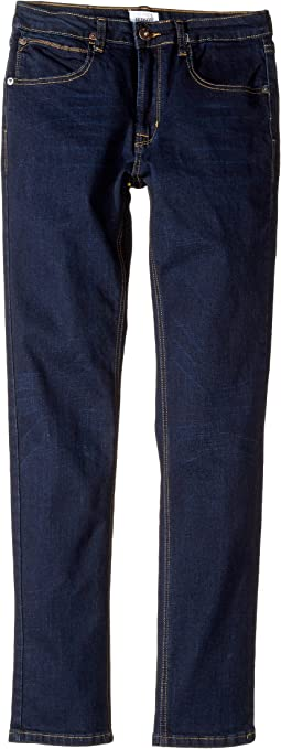 Jagger Slim Straight Fit in Shaken Blue (Big Kids)