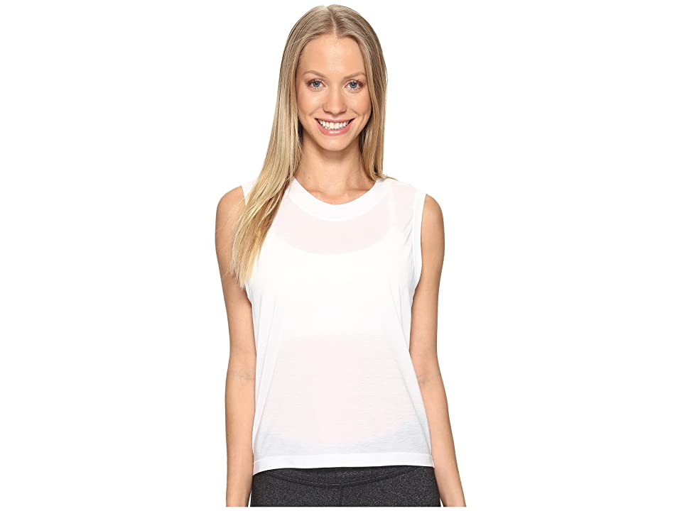 Under Armour Supreme Muscle Tank Top (White) Women