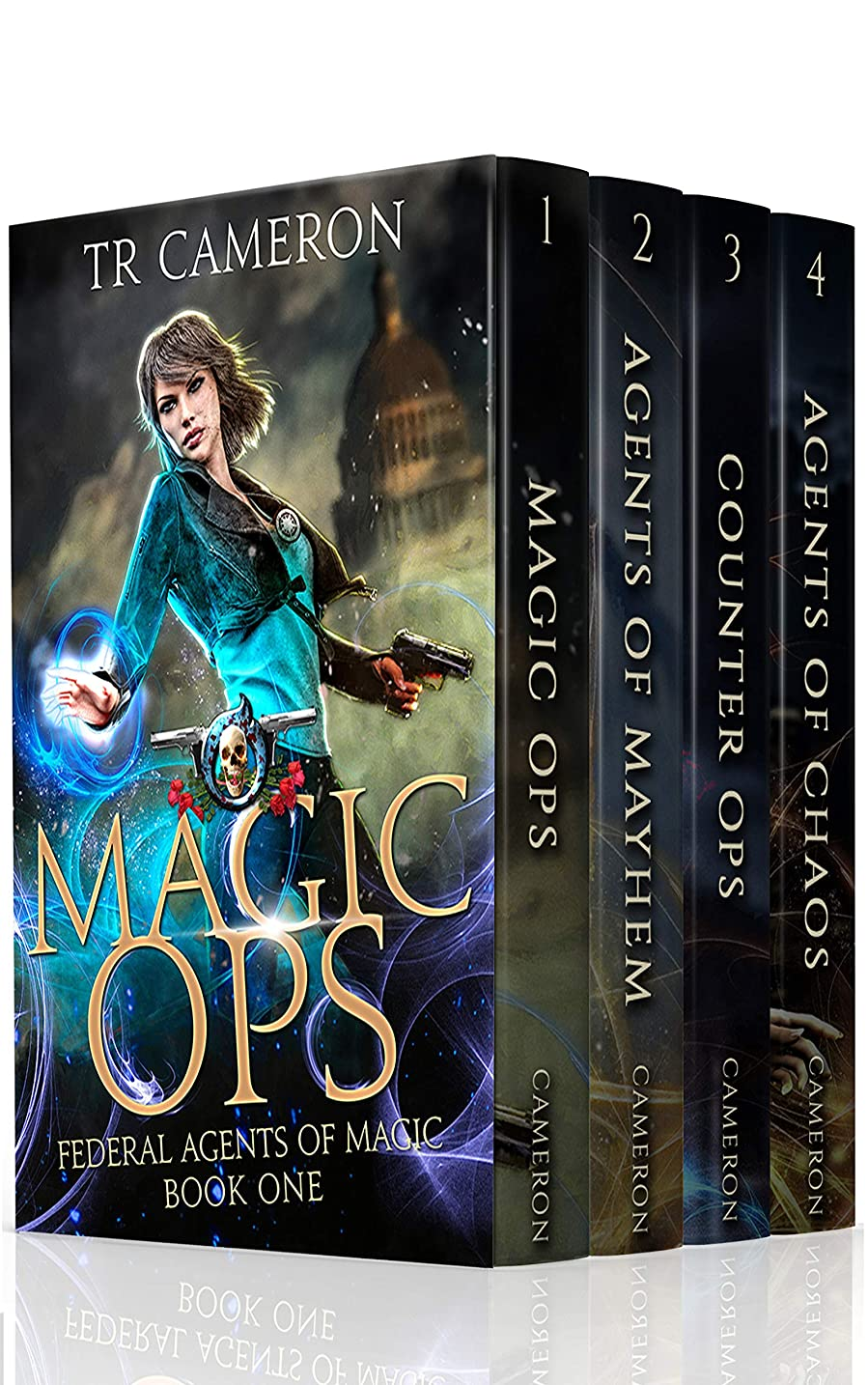 中世の道徳有名Federal Agents of Magic Boxed Set 1 - Urban Fantasy Action Adventure: Magic Ops, Agents of Mayhem, Counter Ops, Agents of Chaos (English Edition)
