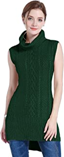 sleeveless tunic sweater