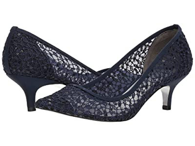 Adrianna Papell Lois Lace (Navy Martinique Lace) Women
