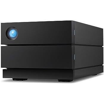 LaCie 2big RAID 16TB External Hard Drive Desktop HDD – USB-C USB 3.0 7200 RPM Enterprise Class Drives, Recovery Service (STHJ16000800)