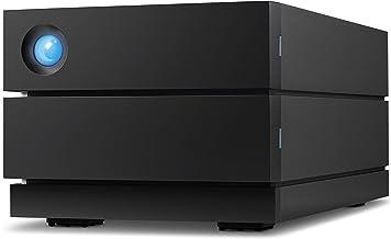 LaCie 2big RAID 8TB External Hard Drive Desktop HDD – USB-C USB 3.0 7200 RPM Enterprise Class Drives, for Mac and PC Desktop, Data Redundancy (STHJ8000800)