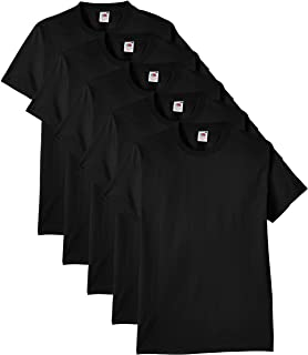 Fruit of the Loom Men's Heavy T-Shirt Pack of 5