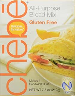 Chebe Bread All-Purpose Mix, Gluten Free, 7.5-Ounce Bags (Pack of 8)