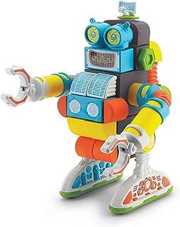 Velcro Kids VELCRO Brand BLOCKS | STEM Toy | Building Blocks, Lightweight Foam | 40 Piece, Jumbo Robot, Age 3+ [Packaging May Vary]