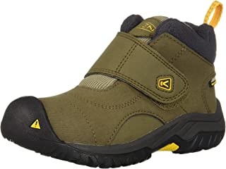 KEEN Unisex Kootenay II WP Hiking Boot, Canteen/Old Gold, 13 M US Little Kid