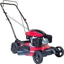 PowerSmart DB8621C Gas Push Mower, Red, Black