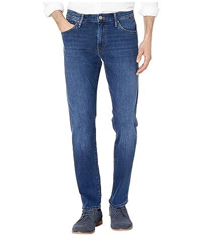 Mavi Jeans Marcus Regular Rise Slim Straight Leg in Dark Indigo Williamsburg (Dark Indigo Williamsburg) Men