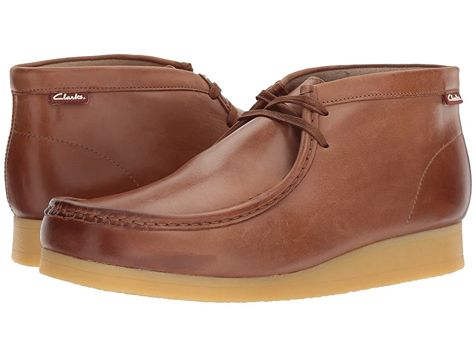 Clarks Stinson Hi (Dark Tan Leather) Men