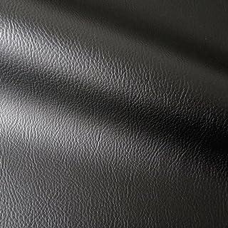 Kunstleder Lederimitat Möbel Polsterstoff Meterware Bezugsstoff geprüft schwarz