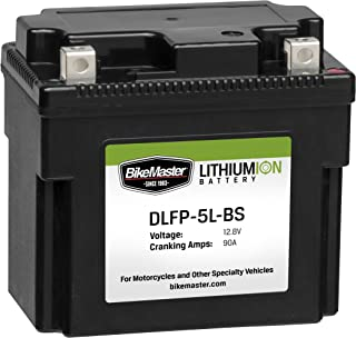 BikeMaster DLFP-5ZS Lithium-Ion Battery - Black - One Size