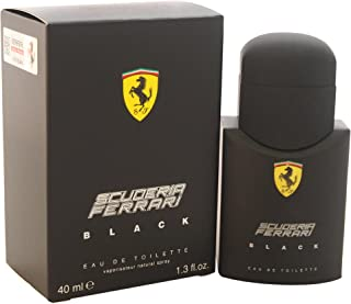 Ferrari Black Men Eau-de-toilette Spray by Ferrari, 1.3 Ounce