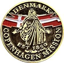 Bennett Brands LDS Denmark Copenhagen Mission Commemorative Lapel Pin