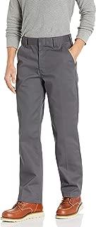 Amazon Essentials Pantalones de Trabajo clásicos Resistentes a Las Manchas y Arrugas para Hombre