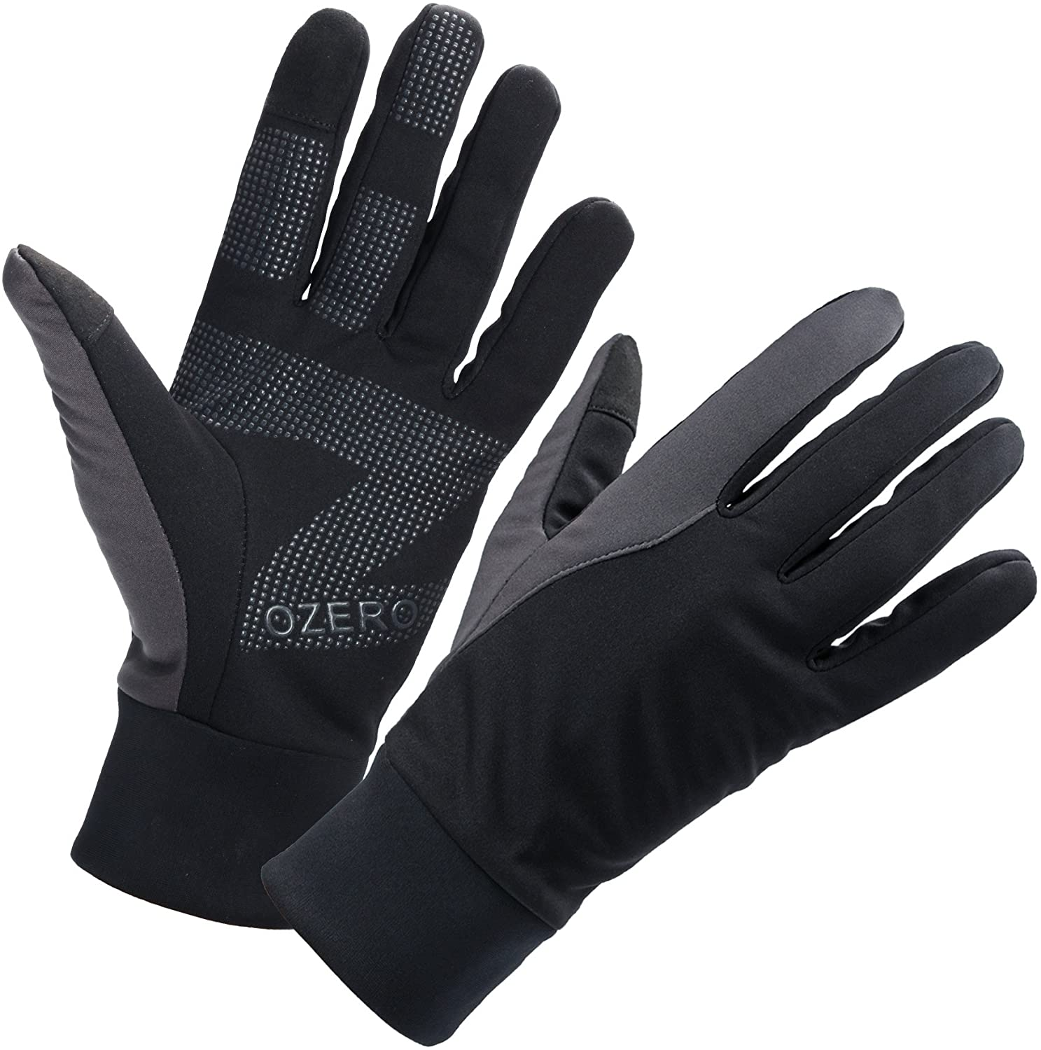 In stock OZERO Mens Winter Thermal Gloves Glove Don't miss the campaign Resist Touch Screen Water