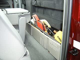 DU-HA Behind-the-Seat Storage Fits 00-07 Ford F-250 thru F-550 Super Duty Crew Cab & Regular Cab, Black, Part #20025
