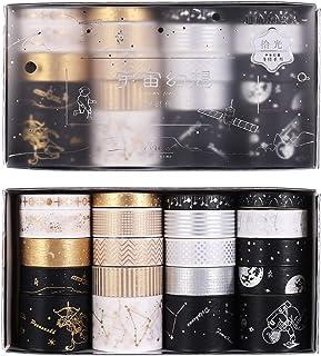 metagio 20 Rouleaux Washi Tape Décoratif Masking Tape Ruban Adhésif Washi Papier pour Les Arts, Bricolage, Fournitures de ...