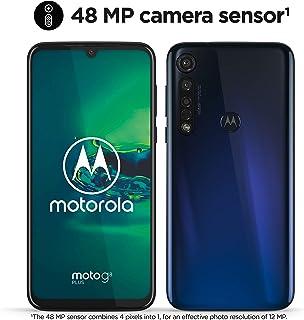 Motorola Moto G8 Plus (Pantalla de 63 FHD u-notch cámara de 48 MP altavoces Dolby® stereo 64 GB/ 4GB Android 9.0 Dual SIM Smartphone) Azul