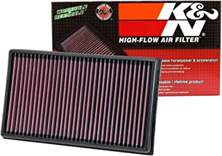 K&N engine air filter, washable and reusable: 2012-2019 Volkswagen/Audi/Seat/Skoda Compact 1.6/1.8/2.0 L 33-3005