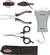 Rapala Combo Pack 6 1/2 Pliers / 5 1/2 Forceps / 25 lb.Scale/Clipper/Sheath