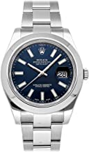 Rolex Datejust II Mechanical (Automatic) Blue Dial Mens Watch 116300 (Certified Pre-Owned)