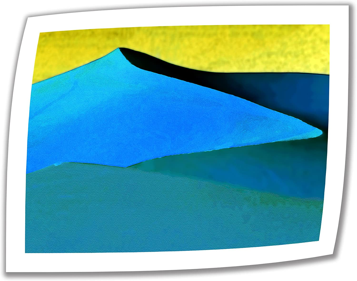 Art Wall Evening at The Dunes 14 by 18Inch Unwrapped Canvas Art by Linda Parker with 2Inch Accent Border