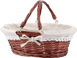 Easter Gift Basket Med Gift Basket for Her Eco Friendly Basket Light Brown Basket Beige Basket Gift Basket for Friend Cotton Basket