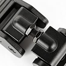 Rugged Ridge 11210.17 Textured Black Aluminum Hood Catch Set