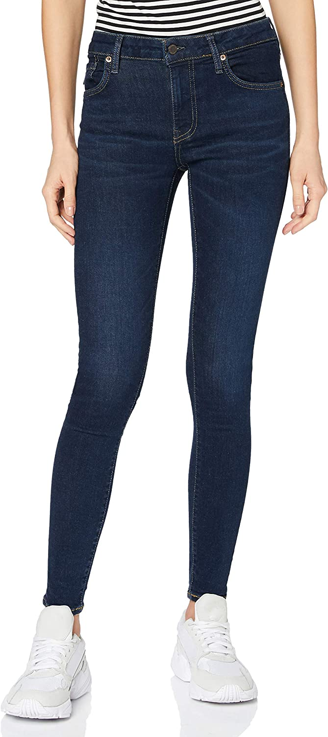 Superdry Trust Mid Ranking TOP5 Rise Jeans Skinny
