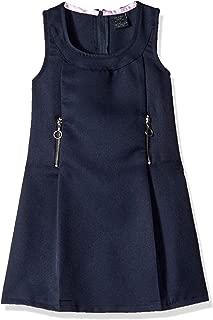 Girls' Sleeveless Zipper Detail Jumper