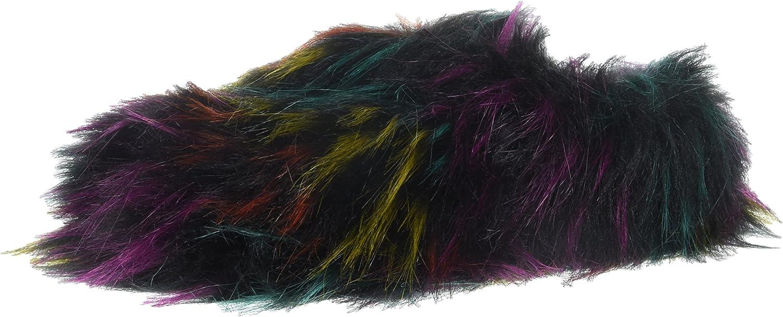 Steve Madden Womens Fuzzy Slipper