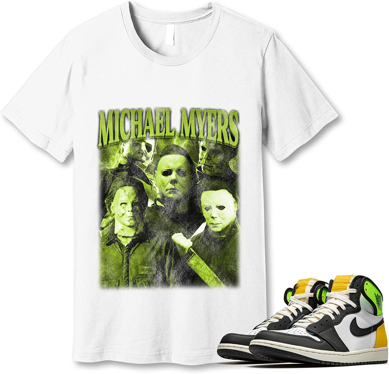 #Michael Don't miss the campaign #Myer T-Shirt to All items free shipping Match Jordan Gold Sneaker 1 Snkrs Volt